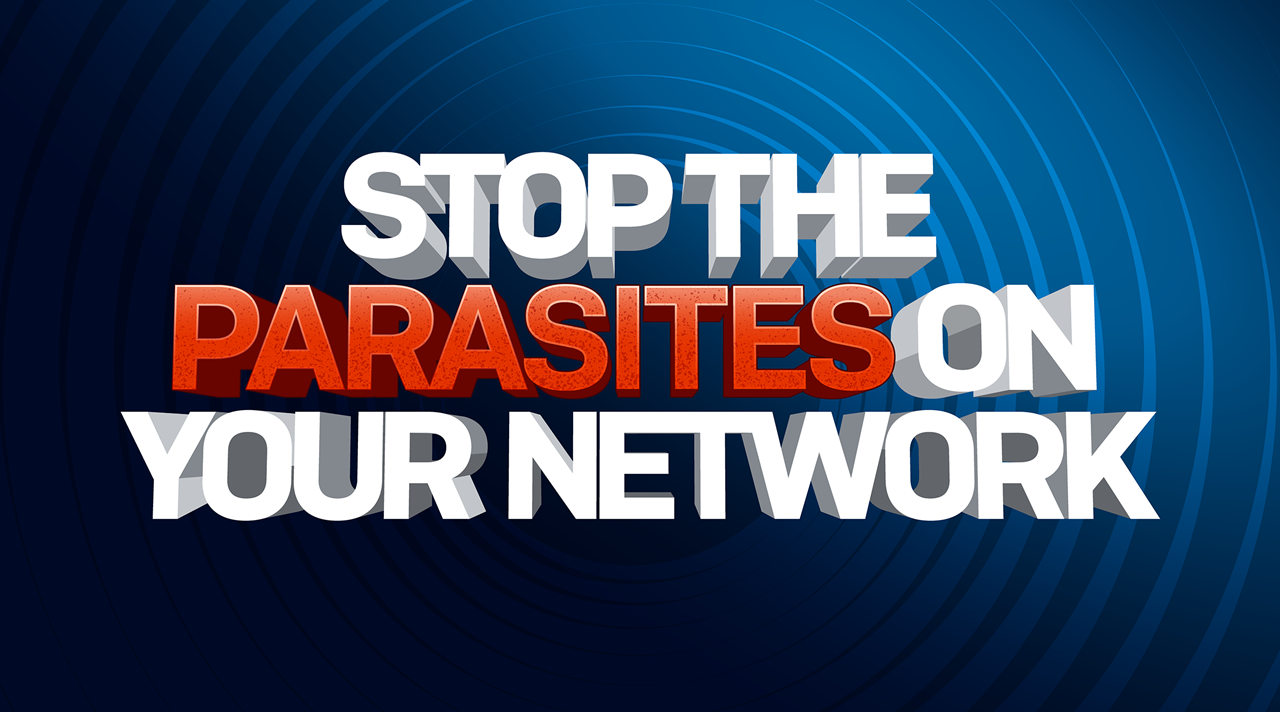 STOP THE PARASITE